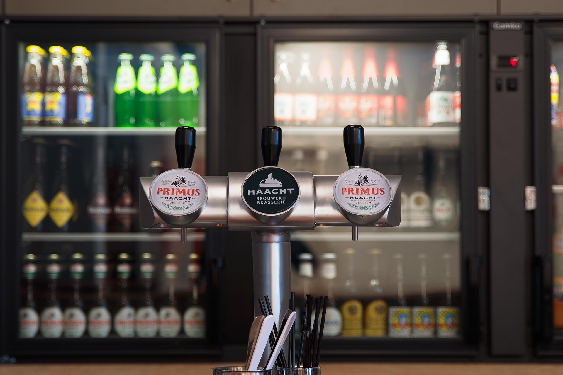 Bierkranen vernieuwde bar.